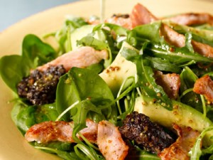 Bacon and Black Pudding Salad