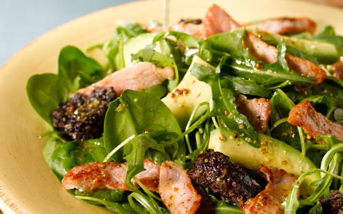 BaconBlackPuddingSalad